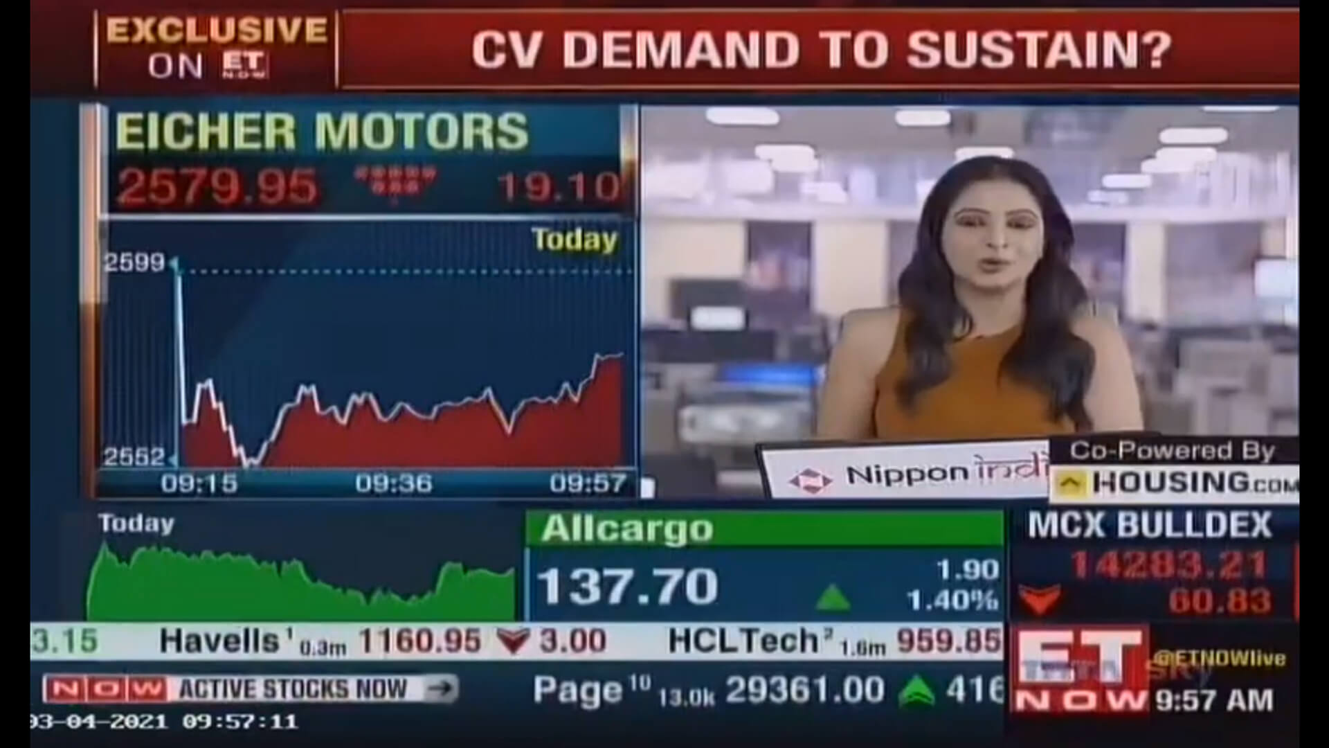 Auto Industry Sales Discussion, Vinod Aggarwal, MD & CEO, VECV