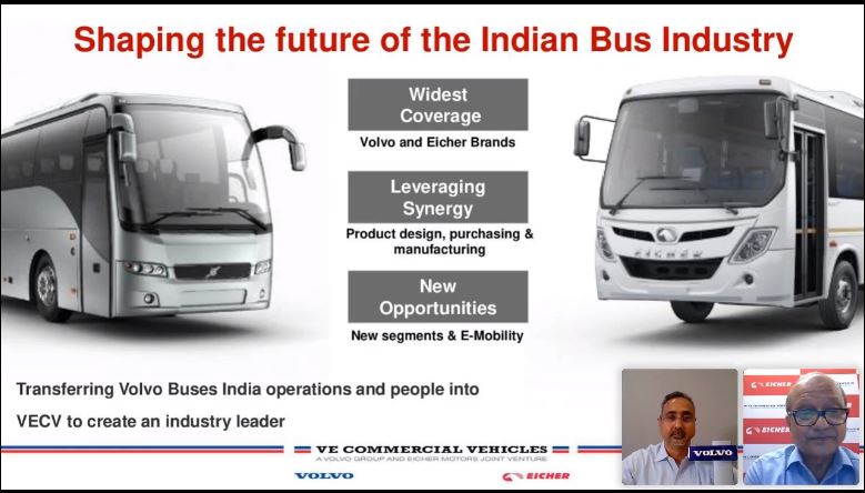 Volvo Buses India integrates with VECV